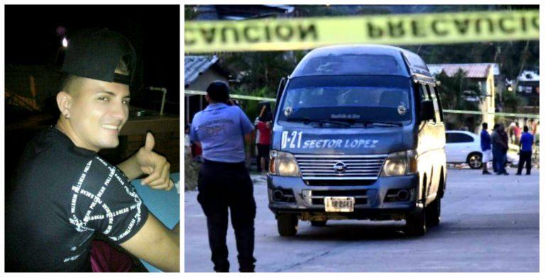 Asesinos de transportista en Choloma iban de pasajeros; huyeron caminando