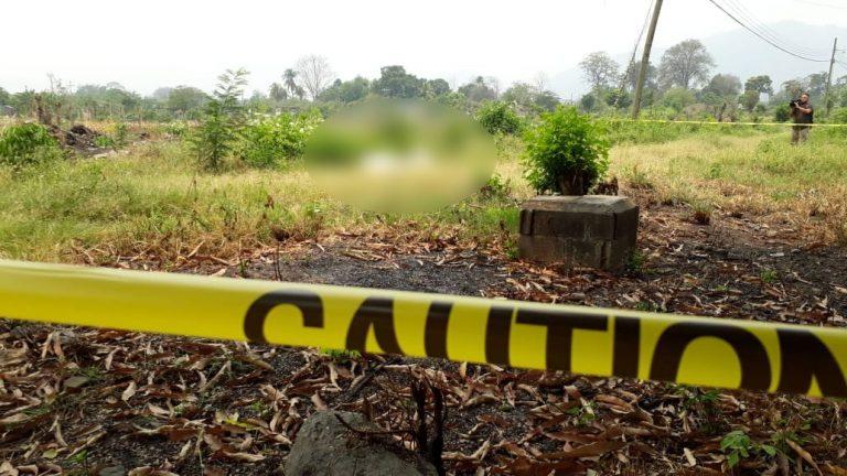 SPS: hallan a dos personas envueltas en sábanas en Chamelecón