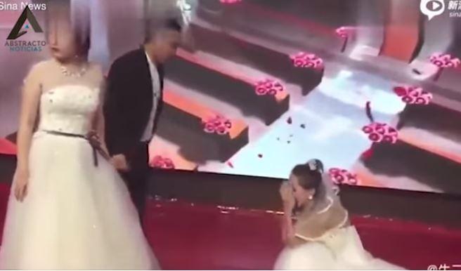 irrumpe en la boda de su ex