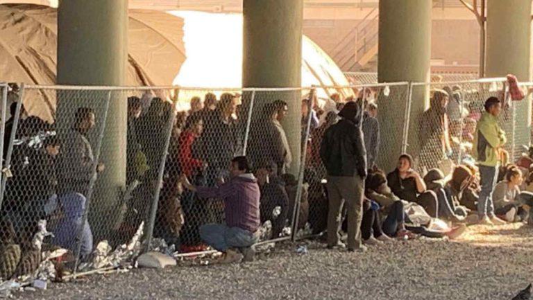 EEUU: reubicarán área de retención de migrantes a un lugar con mayor seguridad