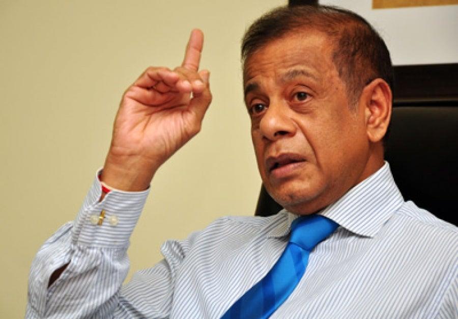 secretario de Defensa de Sri Lanka
