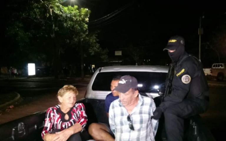 Capturan a personas de la tercera edad acusados de extorsionar en Omoa
