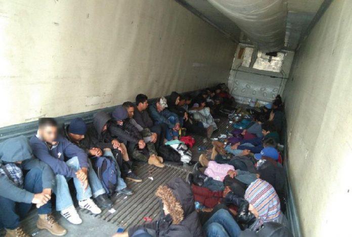 tráfico de migrantes centroamericanos