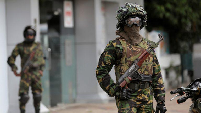 Sri Lanka: tres nuevas explosiones durante tiroteo entre el ejército y supuestos terroristas