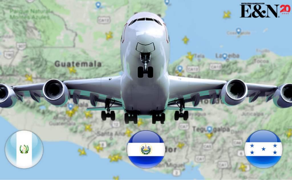Despegan los vuelos domésticos entre Guatemala, Honduras y El Salvador