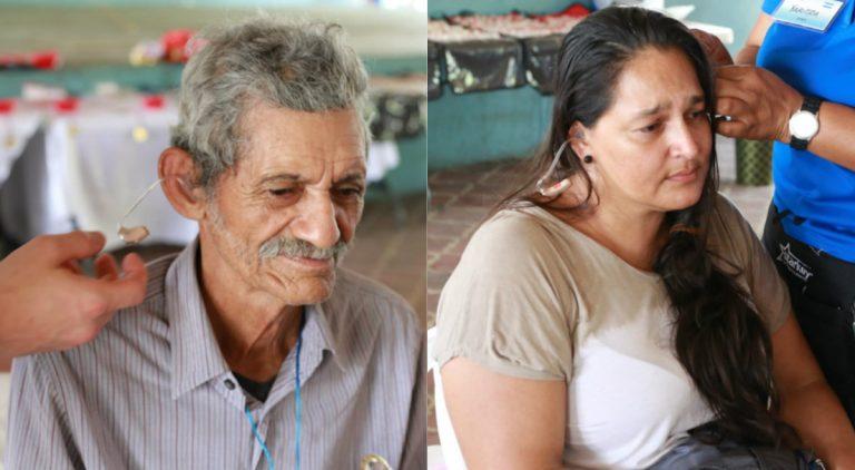 SPS: 800 hondureños ríen y lloran al recibir aparatos que mejoran su audición