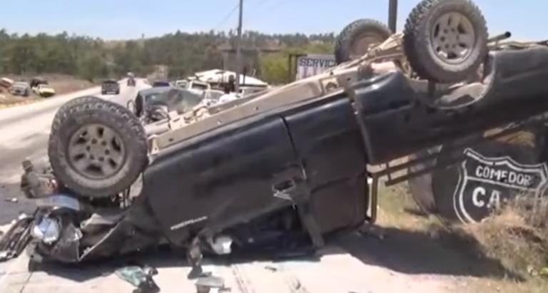 Accidente en carretera al sur del país deja nueve heridos; cuatro son niños
