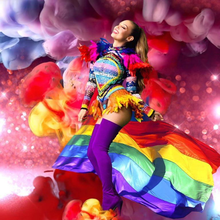 ¡Tolerancia y respeto! Thalía y su mensaje de apoyo a la comunidad LGBTI
