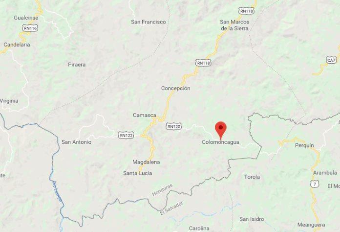 mujer muerta en Intibucá