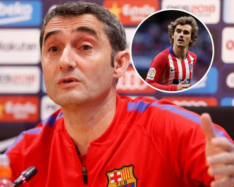 ¿Llegará Griezmann al Barcelona? Así responde Ernesto Valverde