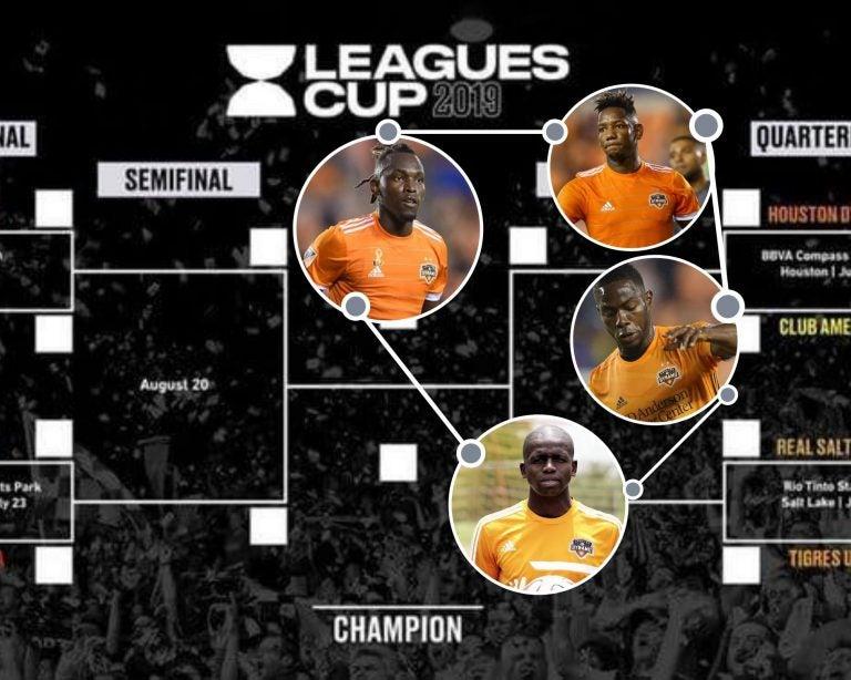 Hondureños del Houston Dynamo disputarán la Leagues Cup 2019