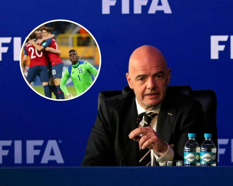FIFA investiga un posible amaño tras el resultado de Noruega ante Honduras