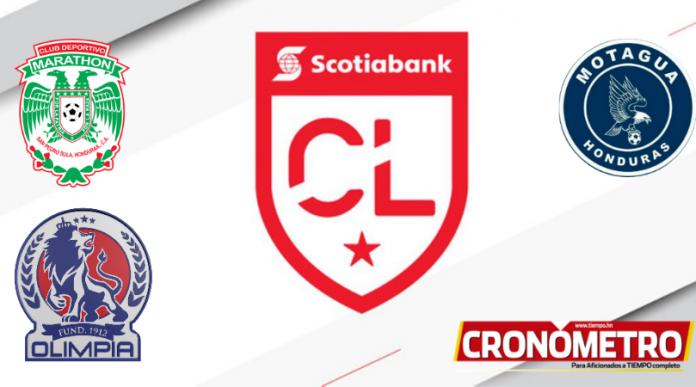 Olimpia, Marathón y Motagua clasificados a la Liga de Concacaf