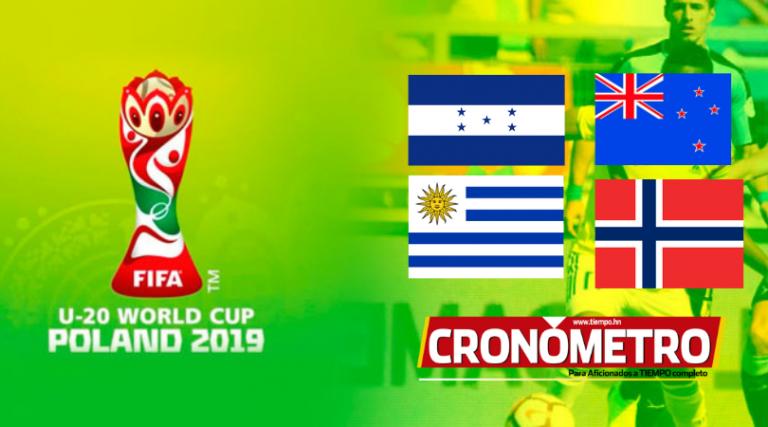 ¿Qué partidos se juegan mañana en el Mundial Sub-20 Polonia 2019?