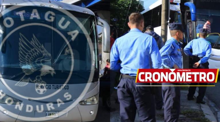 ¡Blindados! Con policías privados y militares llegará Motagua a San Pedro Sula