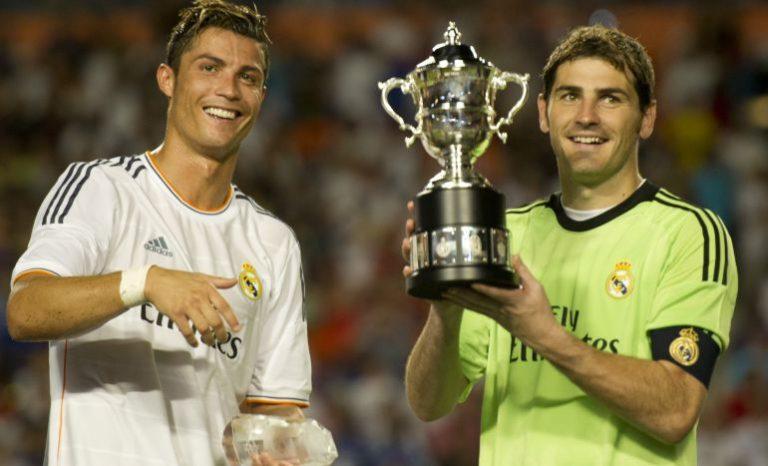 ¡Emotivo mensaje de Cristiano Ronaldo a Iker Casillas luego que este sufra infarto!