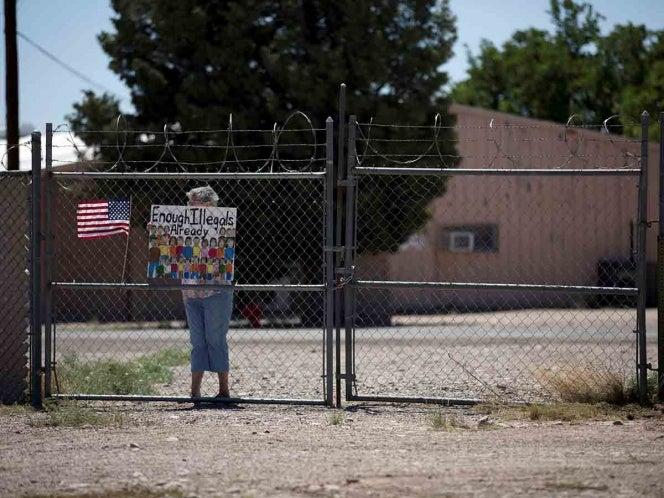 Mexicana inicia huelga de hambre por todas las familias migrantes separadas en EEUU