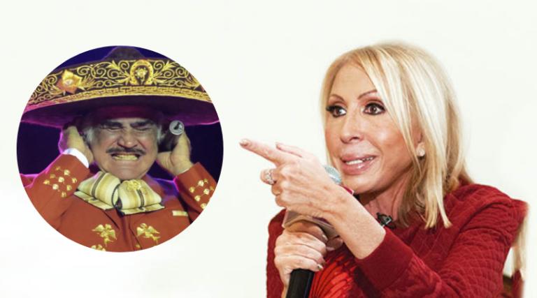 Laura Bozzo arremete contra Vicente Fernández por comentario homofóbico