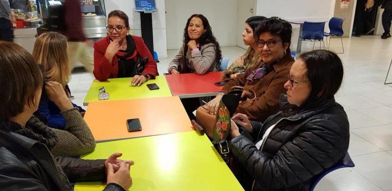 Xiomara Castro se reúne con COPPPAL en Argentina: preocupación por crisis de DDHH