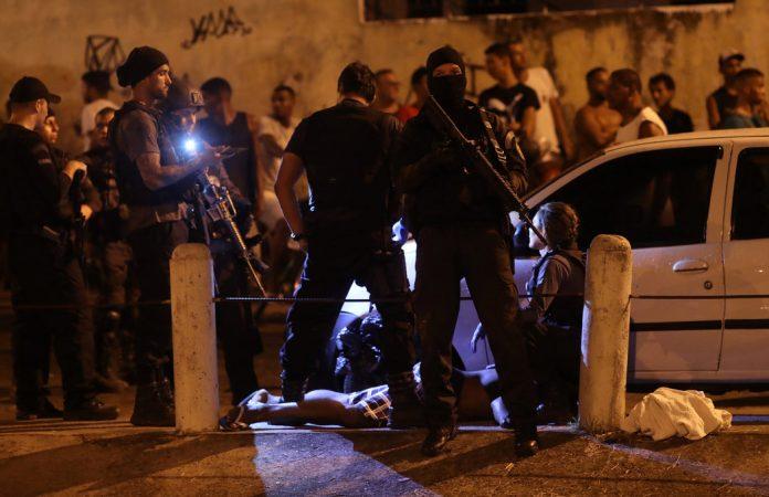 cinco personas mueren al día en Brasil