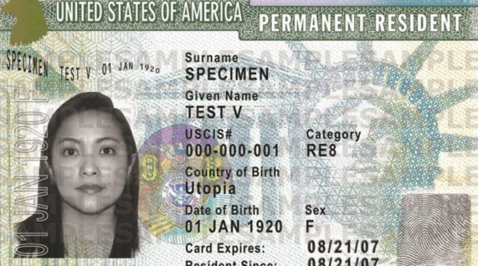 inmigrantes con green card