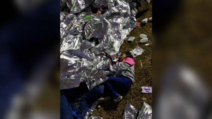 los niños inmigrantes detenidos
