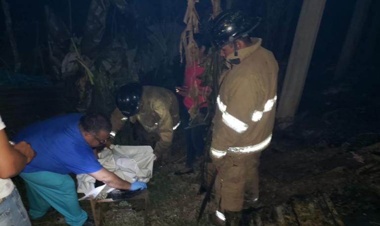 Niño de dos años muere dentro de una vivienda que se incendió en Tocoa