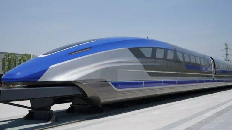 China presenta el tren «más rápido» que un avión; cuenta con levitación magnética
