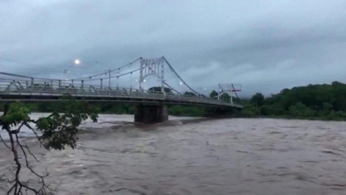 continúan las lluvias en la zona sur