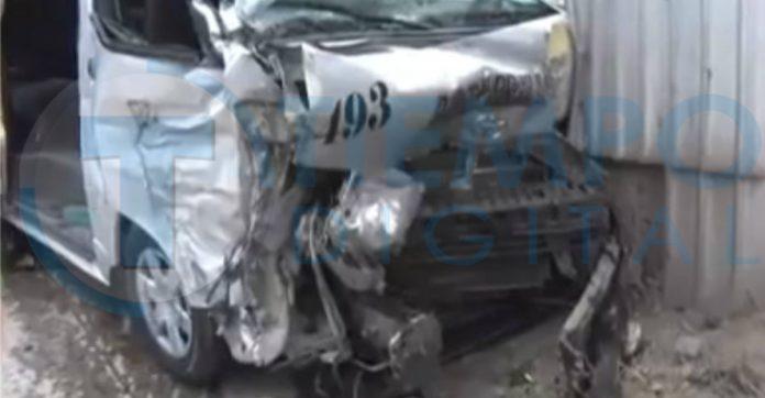 10 heridos tras accidente de rapidito en SPS