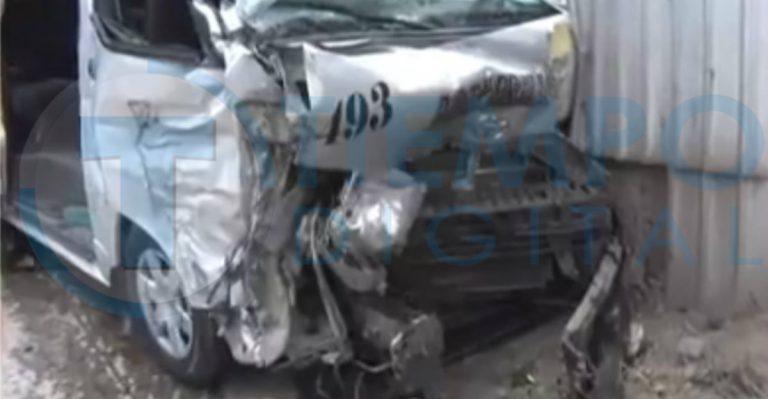 """SPS: 10 heridos tras accidente protragonizado por un """"rapidito"""""""