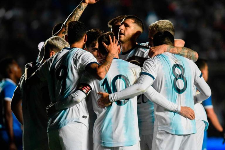 Con doblete de Messi, Argentina derrota a Nicaragua previo a la Copa América