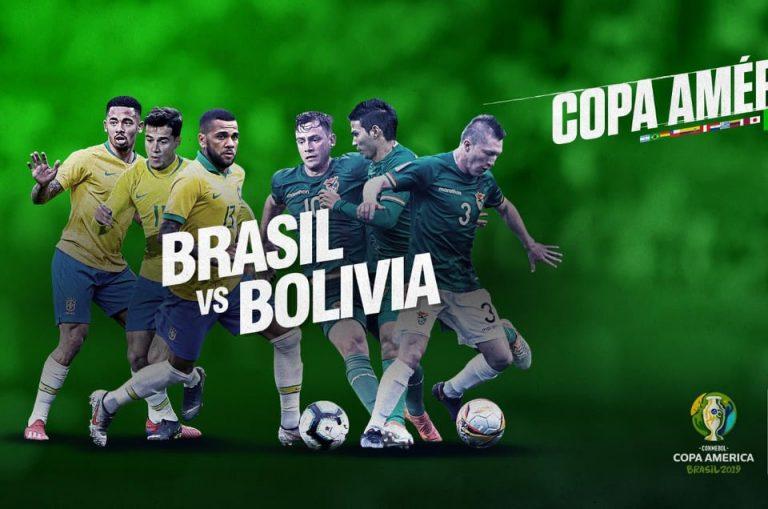 Brasil vs. Bolivia inauguran este viernes la Copa América 2019