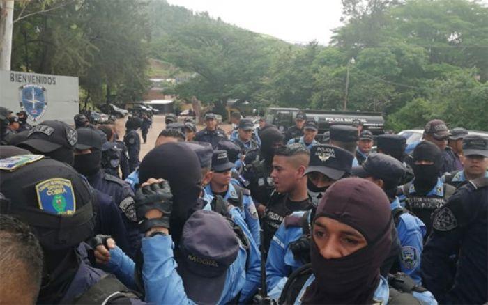 Leonel Sauceda: «La intención es que los policías gocen de las mejores condiciones»