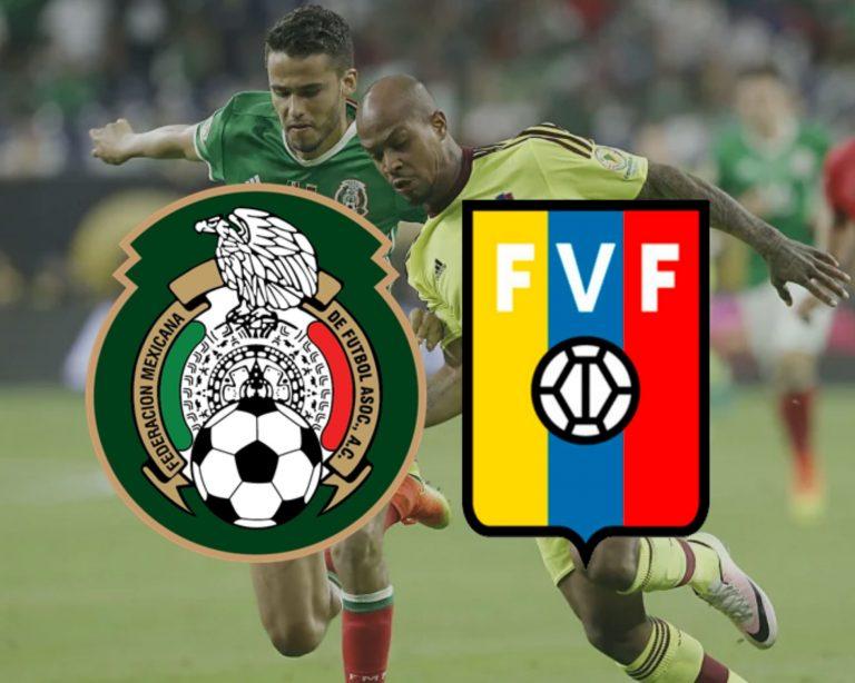 México vs. Venezuela: Se enfrentan en amistoso internacional de fecha FIFA