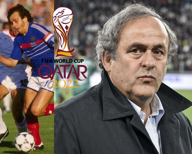 ¡BOMBAZO! Detienen a Michel Platini por investigaciones del Mundial 2022