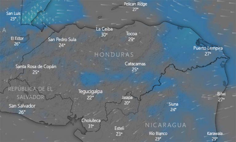 CLIMA DE HOY: condiciones secas sin descartar leves lloviznas en el oriente y occidente