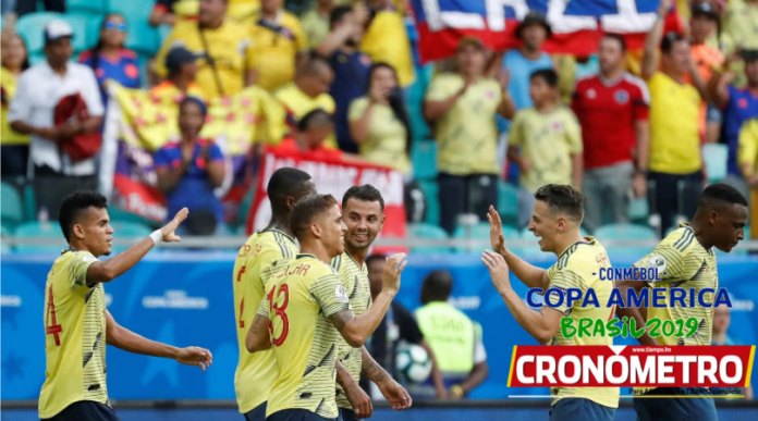 Colombia clasifica como líder del Grupo