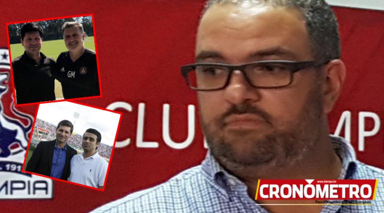 Alex Pineda Chacón, otro candidato para dirigir al Olimpia