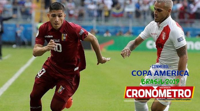 Perú y Venezuela debutan con simple empate en la Copa América 2019