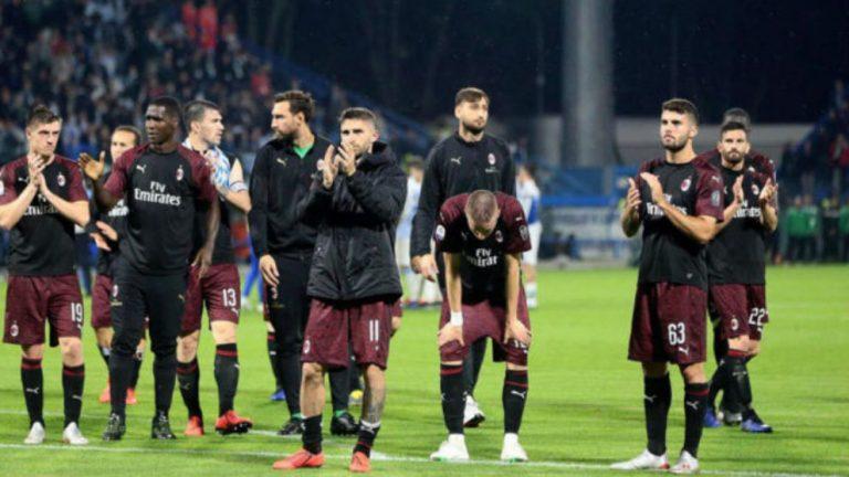 Oficial: El Milan es excluido de la Europa League; le sustituye el Torino