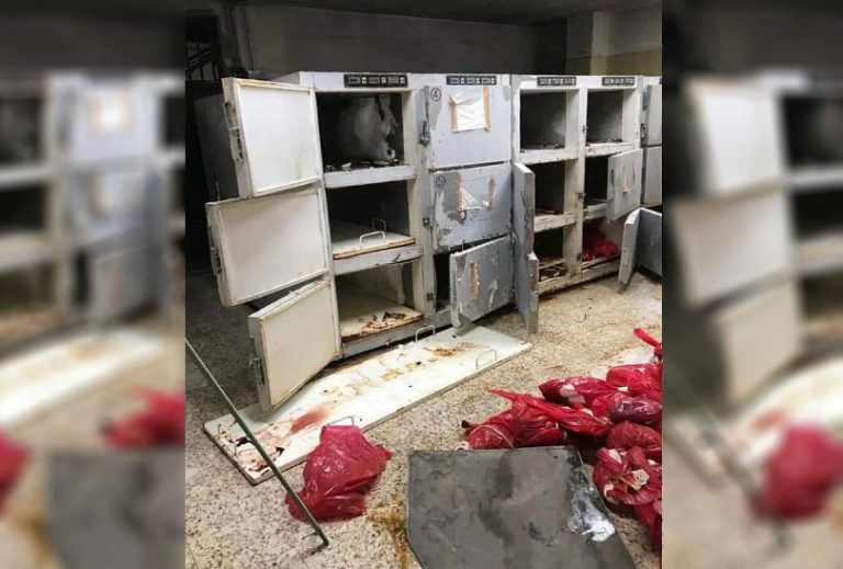 Cadáveres generarán epidemia en el Hospital Escuela; faltan congeladores