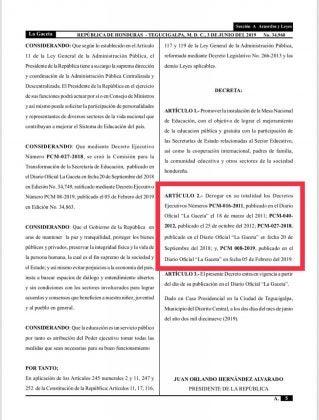 Decretos PCM