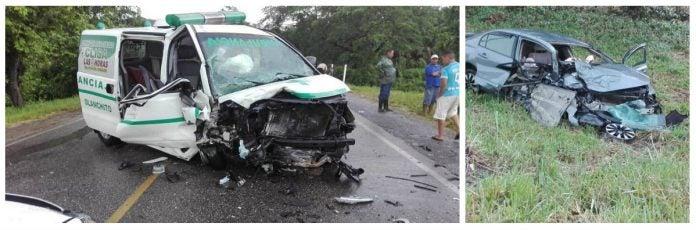 dos policías muertos en yoro