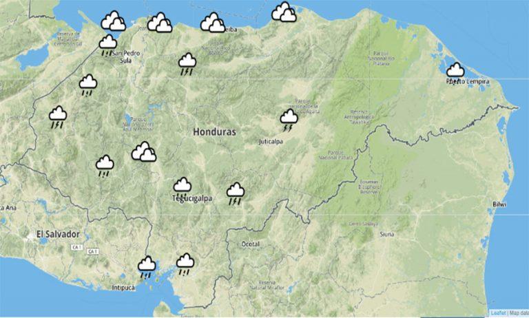 CLIMA DE ESTA TARDE:  anuncian lluvias en todo el territorio nacional