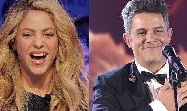 Alejandro Sanz le manda un coqueto mensaje a Shakira