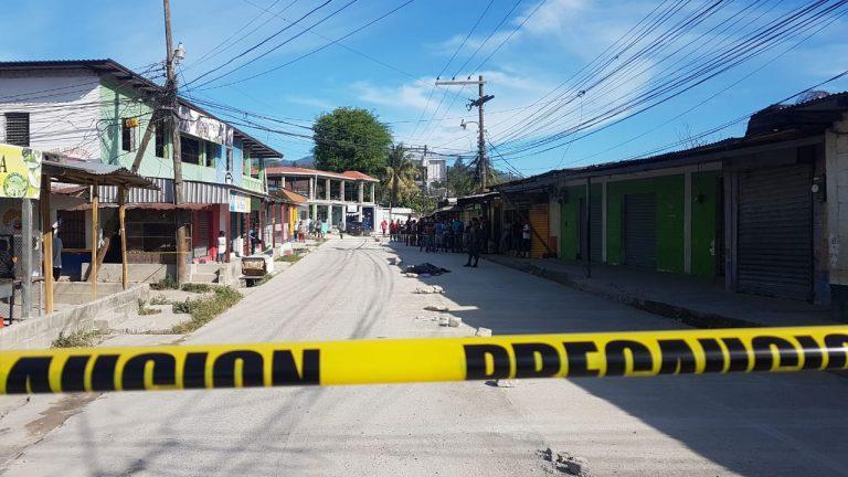 De varios balazos ejecutan a un árbitro de fútbol en Choloma, Cortés