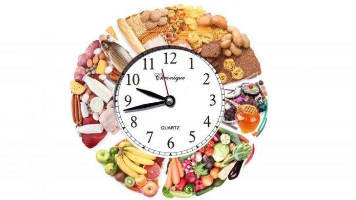 hora de las comidas