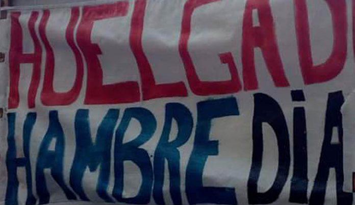 huelga de hambre en tegucigalpa