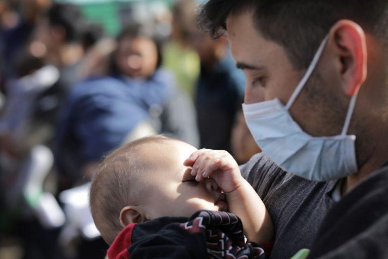 Epidemia en albergue: reportan 128 inmigrantes con síntomas de influenza